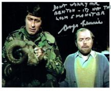 Angus Lennie Autograph Signed Doctor Who